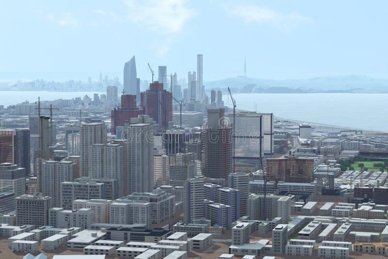 горизонт города стоковые фото