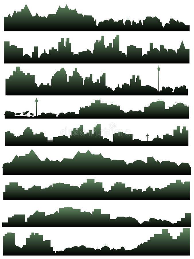 горизонт города