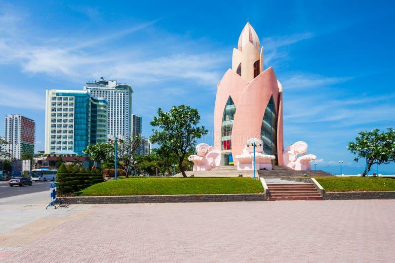 Горизонт города Nha Trang, Вьетнам стоковое изображение
