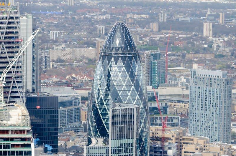 Горизонт города Лондона стоковое изображение rf