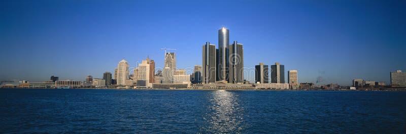 Горизонт Детройт стоковое фото