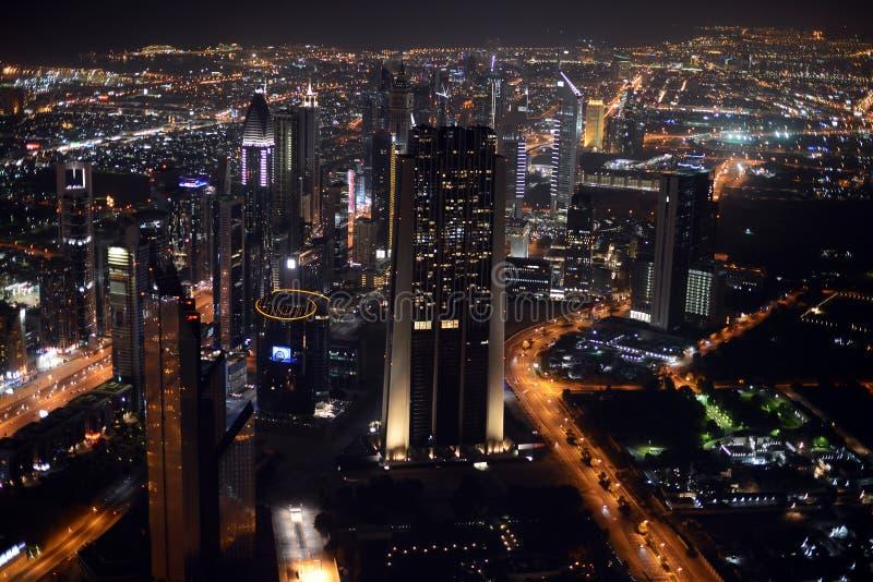 Горизонт Дубая стоковое изображение