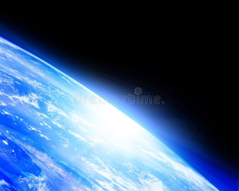Горизонт земли иллюстрация штока