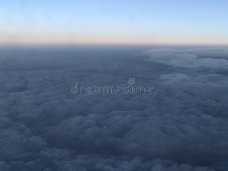 Горизонт кроны неба солнечный стоковое фото