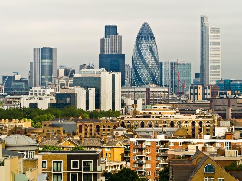 Горизонт Лондона стоковые фотографии rf