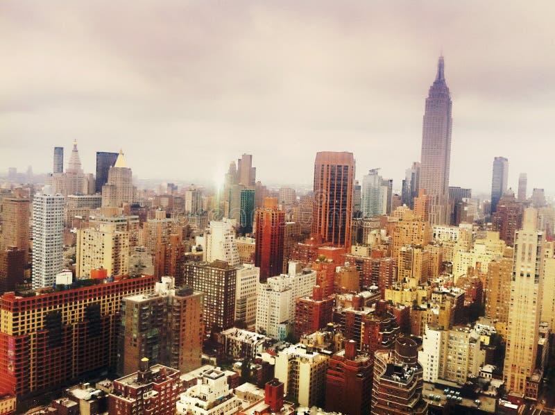 Горизонт Манхэттена, NYC стоковое изображение