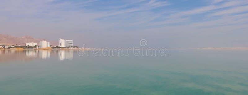 Горизонт мертвого моря стоковые фото