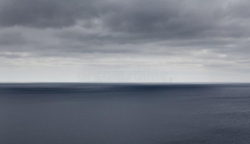 Горизонт моря стоковые фотографии rf