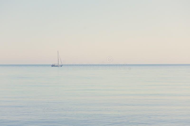 Горизонт моря стоковая фотография