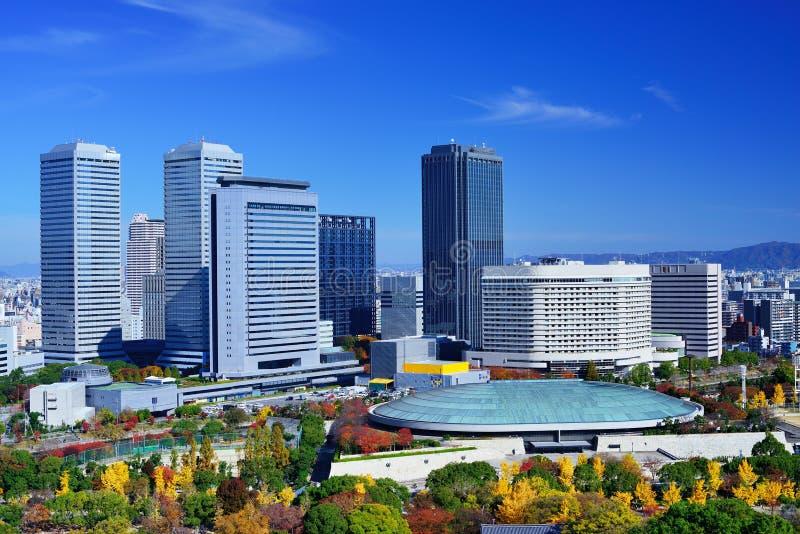 Горизонт Осаки стоковые фото