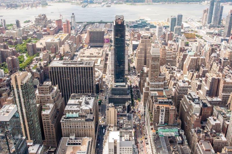 Горизонт от верхнего угла стоковая фотография