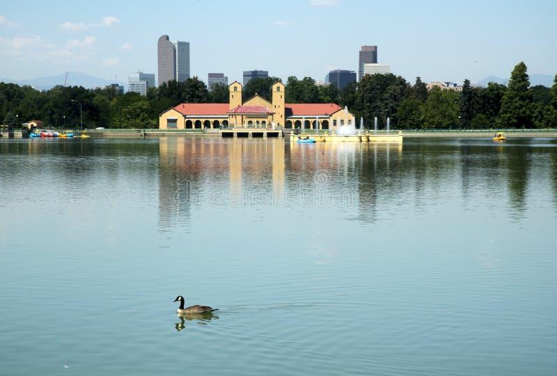 горизонт 2010 разрешения парка denver города высокий панорамный скачет ультра стоковые фотографии rf