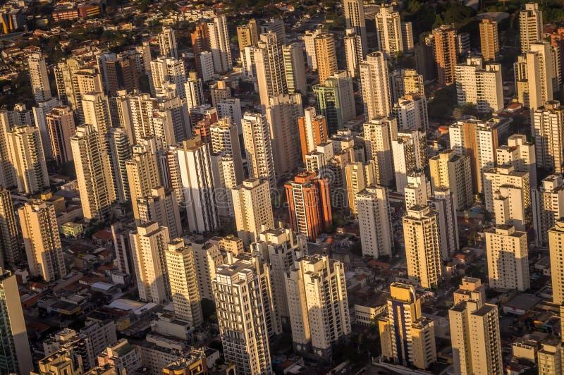 Горизонт Сан-Паулу стоковые изображения rf