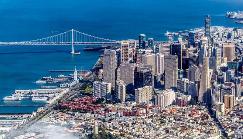 Горизонт Сан-Франциско стоковая фотография rf
