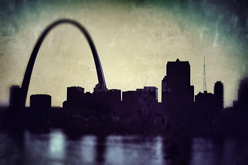 Горизонт Сент-Луис стоковое фото