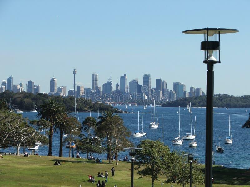 горизонт Сидней стоковая фотография rf