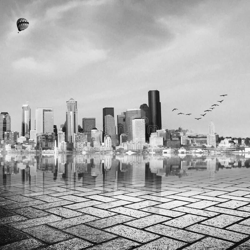 Горизонт Сиэтл стоковые фото