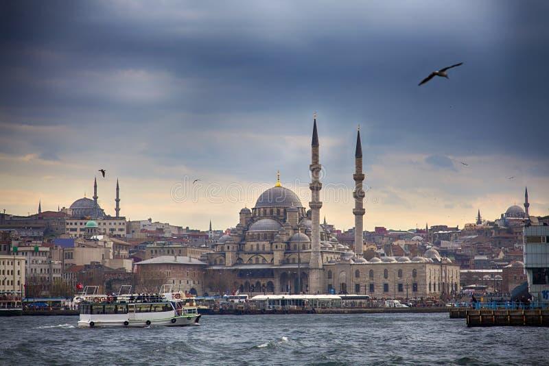 Горизонт Стамбула стоковое изображение