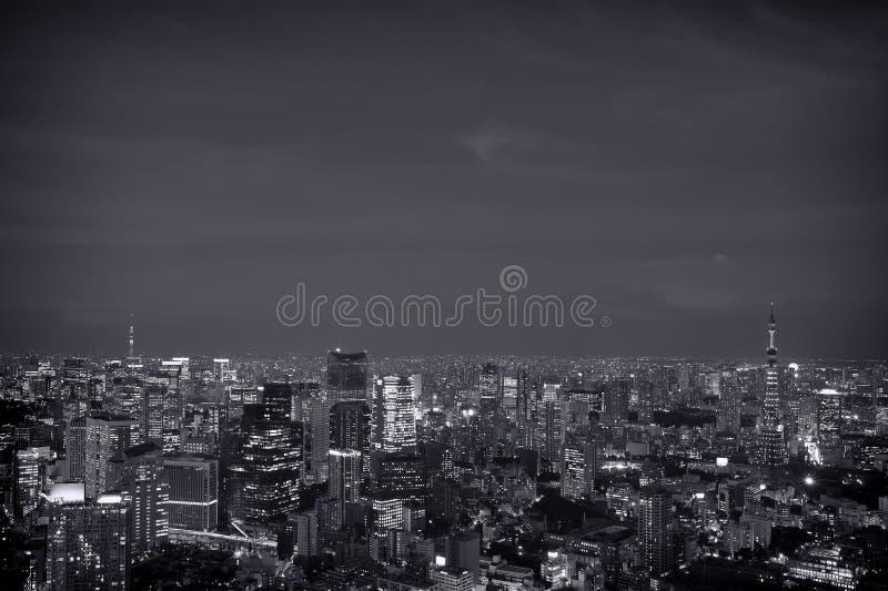 Горизонт токио стоковая фотография