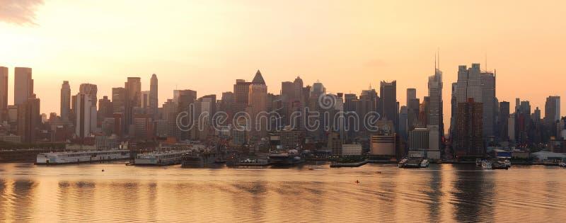 горизонт урбанский york панорамы города новый стоковые изображения rf