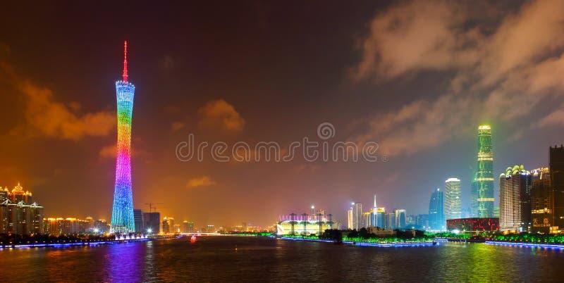 горизонт 3 guangzhou стоковые фотографии rf