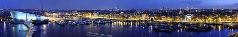 горизонт amsterdam стоковая фотография rf