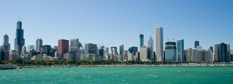 горизонт chicago illinois стоковые изображения rf