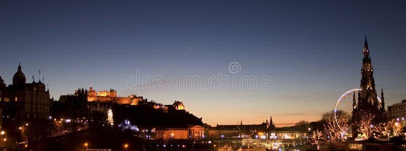 горизонт edinburgh стоковые фото