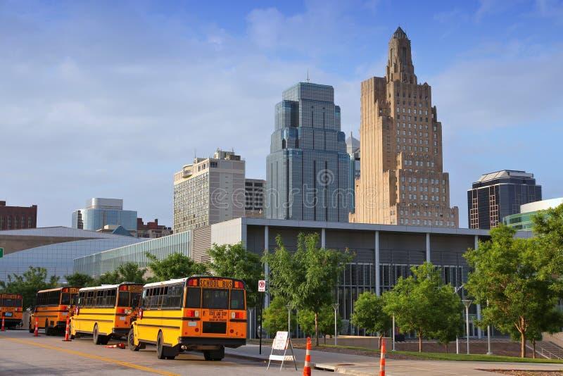 Горизонт Kansas City стоковое фото rf