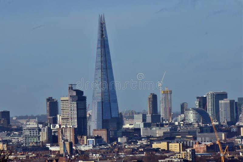 горизонт london города стоковые фото