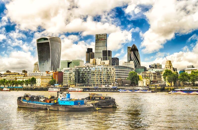 горизонт london города стоковые изображения rf