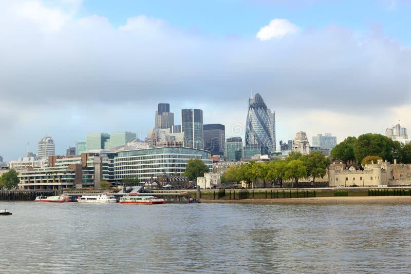 горизонт london стоковое изображение