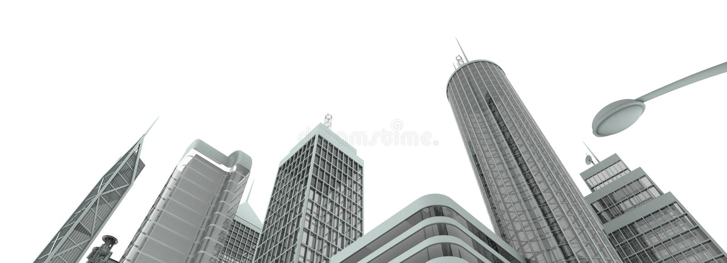 горизонт metropolyn стоковое фото