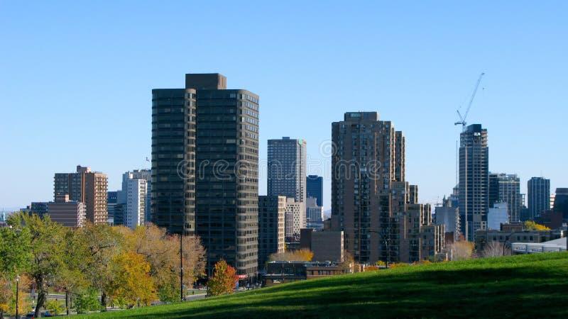 горизонт montreal города стоковое изображение