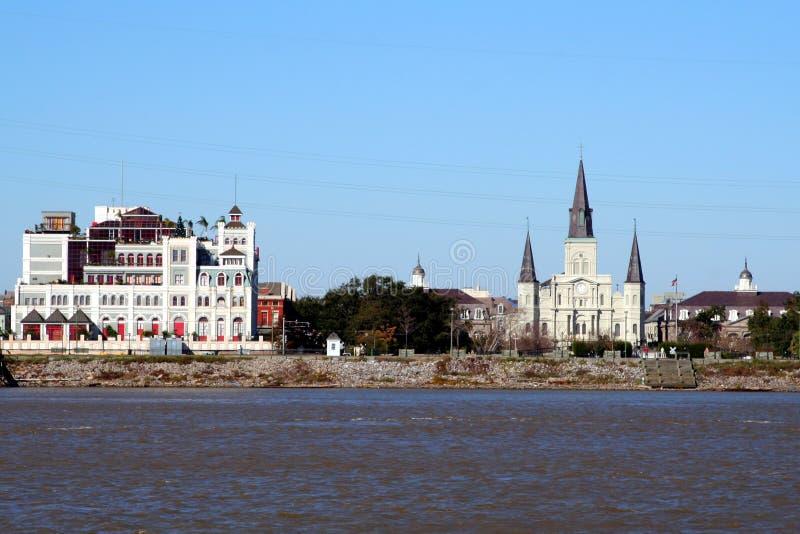 горизонт New Orleans стоковое фото rf