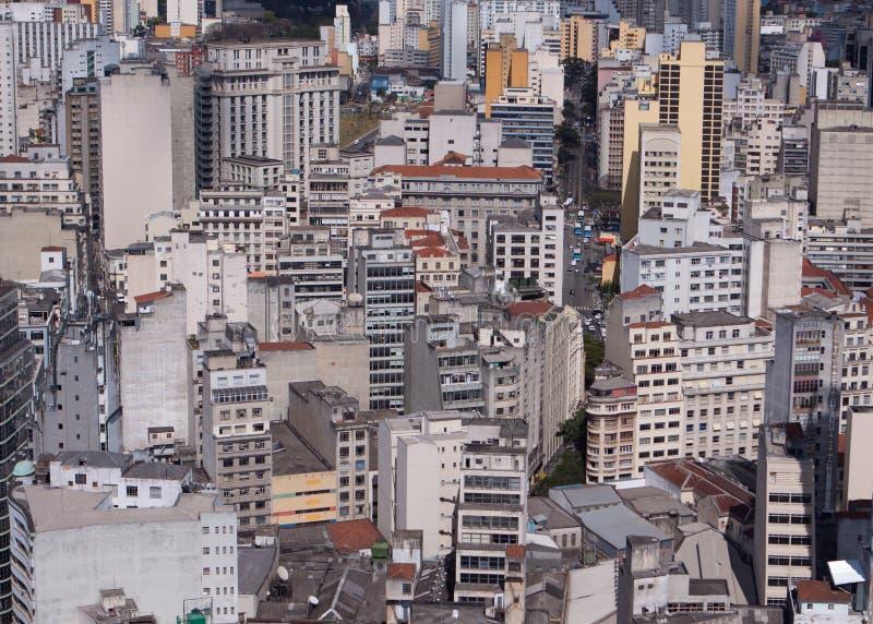 горизонт sao paulo стоковая фотография