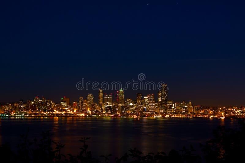 горизонт seattle города городской стоковое изображение