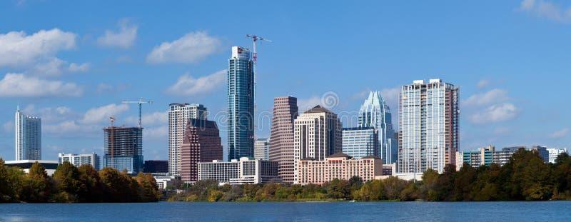 горизонт texas austin стоковые фото