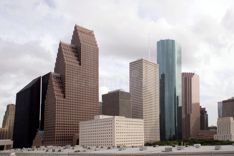 горизонт texas houston стоковые фотографии rf