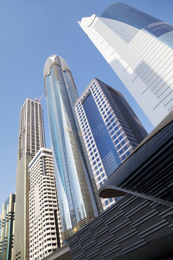 горизонт UAE Дубай стоковое фото rf