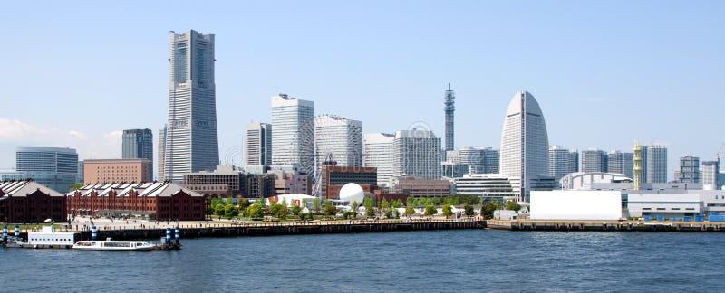 горизонт yokohama японии стоковая фотография rf