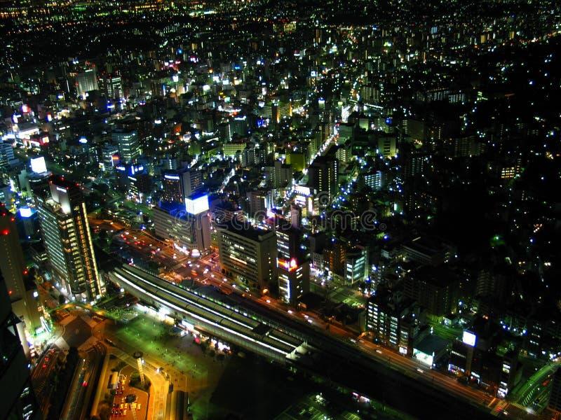 горизонт yokohama стоковое фото