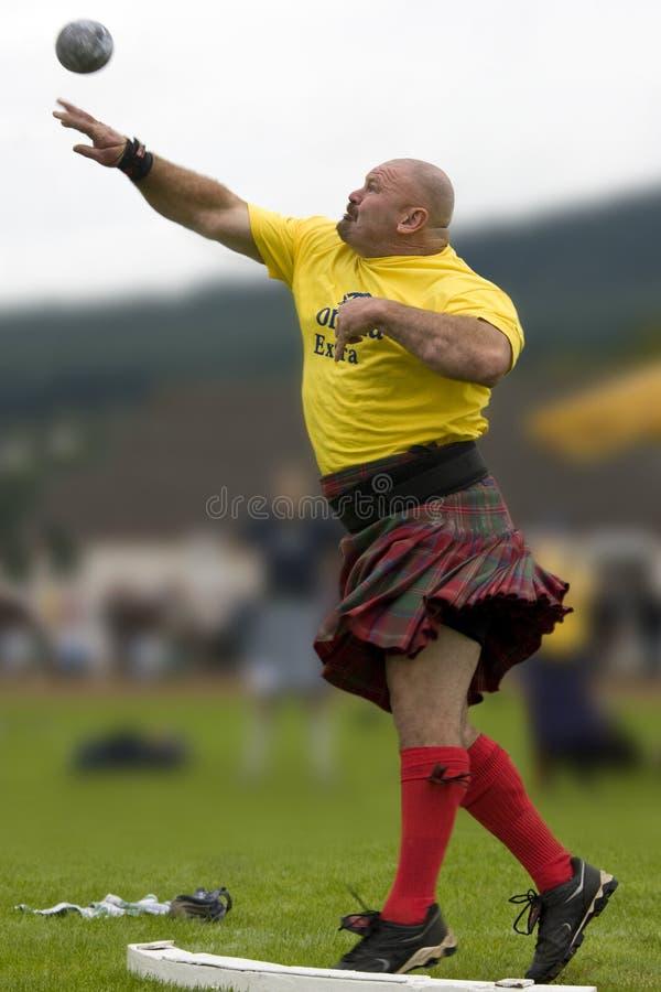 гористая местность Шотландия игр стоковые фото