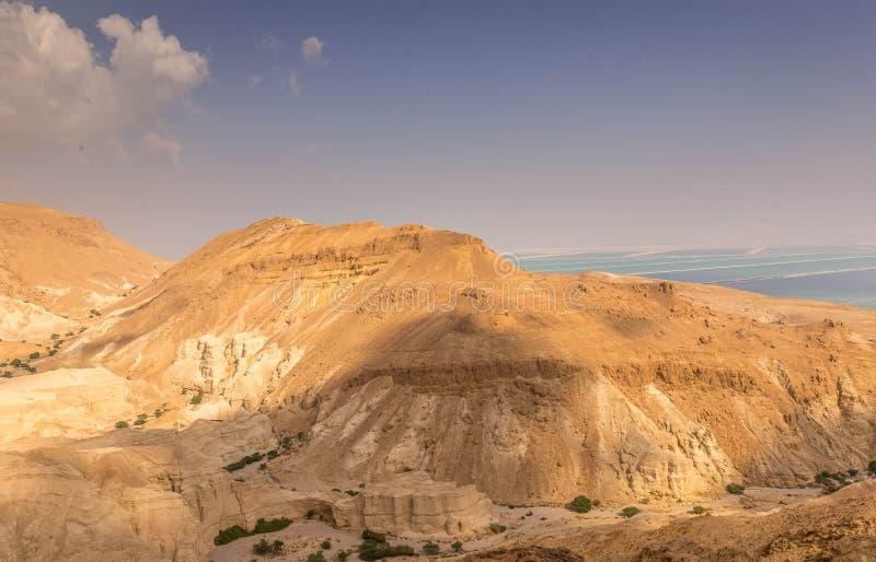 Гористая пустыня, Израиль стоковое изображение