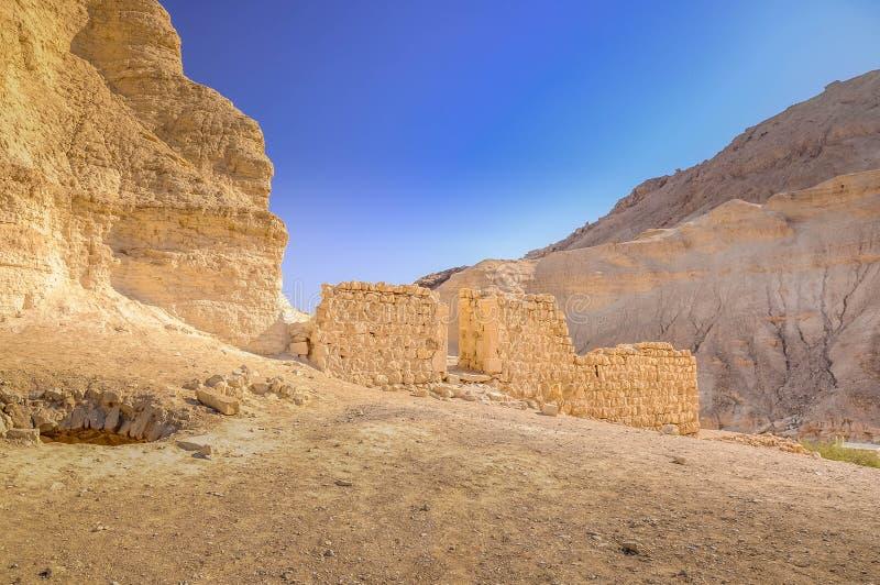 Гористая пустыня, Израиль стоковая фотография