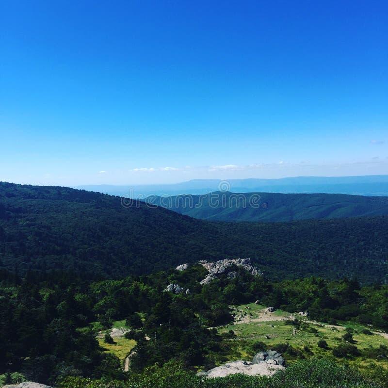 Гористые местности Grayson стоковое изображение