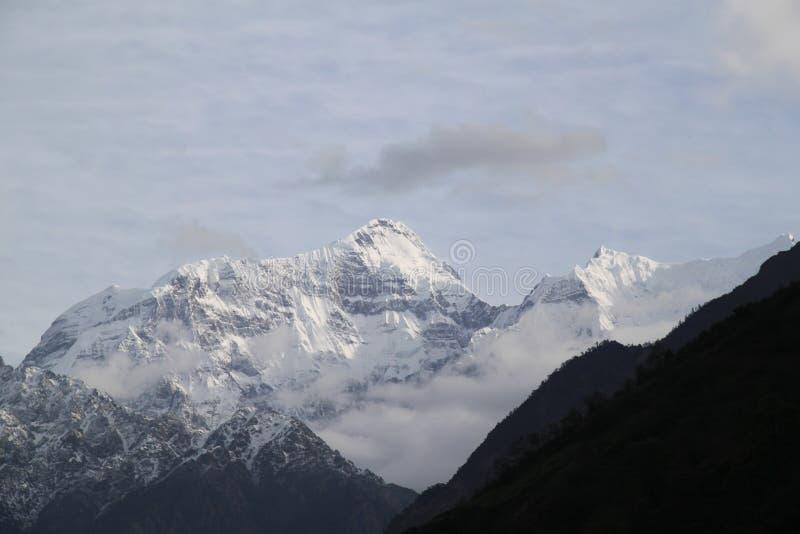 Горная цепь Непала стоковая фотография