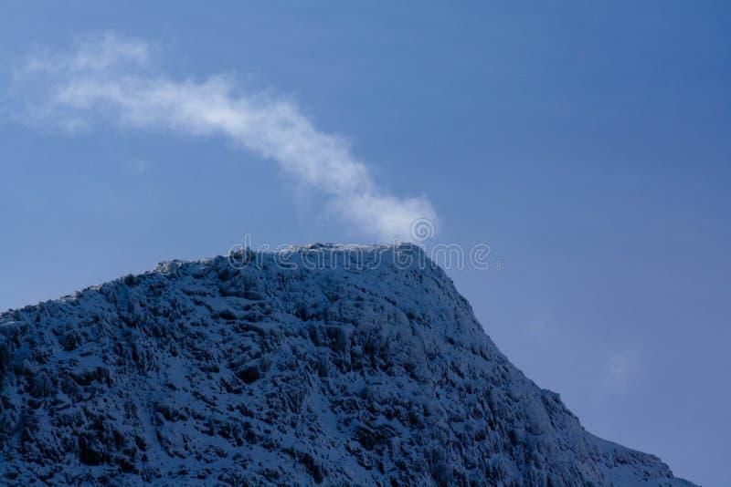 Горная цепь Snowdonia стоковое изображение rf