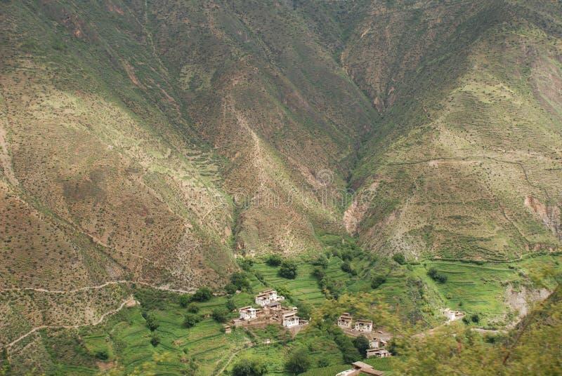 горное село ноги стоковая фотография