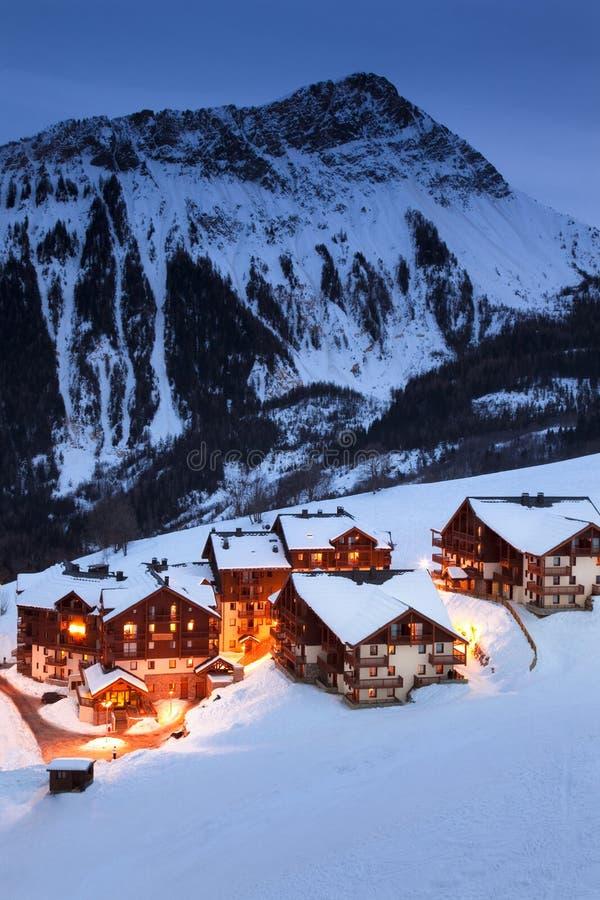 горное село стоковая фотография rf